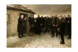 A Highland Funeral, 1882 Giclée-Druck von Sir James Guthrie