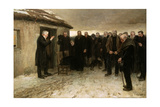 A Highland Funeral, 1882 Giclee Print by Sir James Guthrie
