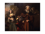 The Dismissal of Hagar, 1650 Giclee Print by Jan Victors