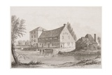 Harnham Mill, 1832 Giclee Print by J. Fisher