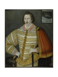 Portrait of Thomas Cavendish, the Circumnavigator, 1588-91 Giclee Print by John the Younger Bettes