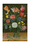 Still Life with Spring Flowers Giclee Print by Ambrosius Brueghel