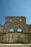 The Narthex of the Southern Basilica of the Church of St. Simeon, Constructed in 459-490 Photographic Print