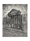 The Old Bank in Toulouse Street, New Orleans, from 'The Century Illustrated Monthly Magazine',… Giclee Print by Joseph Pennell