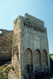 The Tower of the King's Daughter at the Crusader Castle of Krak Des Chevaliers Photographic Print