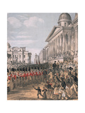 The Parting March, 1854 Giclee Print by Augustus Butler