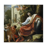 An Allegory of Peace Giclee Print by Simon Vouet