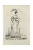 Miss Wilson in Artaxerxes, 1821 Giclee Print by Richard Dighton