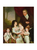 Portrait of William Fairlie and His Family, 1802 Giclee Print by Robert Home
