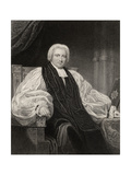 Bishop Henry Ryder, Engraved by T. Woolnoth, from 'The National Portrait Gallery, Volume I',… Giclee Print by Henry William Pickersgill