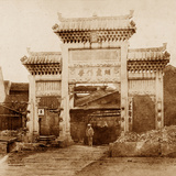 North East Gate Photographic Print by Felice Beato