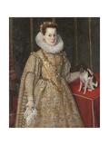 Portrait of Margherita of Savoy Giclee Print by Federico Zuccaro