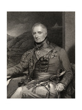 Sir Rufane Shaw Donkin, Engraved by W. Holl, from 'National Portrait Gallery, Volume III',… Giclee Print by H. Mayer