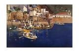 A Mediterranean Port, 1892 Giclee Print by Arthur Melville