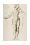 Female Nude Standing, C.1897 Giclee Print by Elinor Mary Darwin