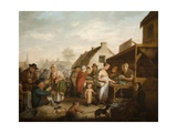 The Scottish Market Place, 1818 Giclee Print by Sir David Wilkie