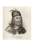 Sir William Wallace, from 'Crabb's Historical Dictionary', Published 1825 Giclee Print
