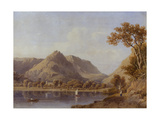 Grasmere Lake, 1830 Giclee Print by George Fennel Robson