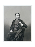 Reverend Charles Kingsley, from 'The Drawing-Room Portrait Gallery of Eminent Personages', 1861 Giclee Print by John Jabez Edwin Paisley Mayall