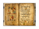 Birds' Head Haggadah, C.1300 Giclee Print by German School