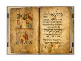 Birds' Head Haggadah, C.1300 Giclee Print by German School