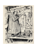 Armstead at Work, Engraving after a Drawing by Wirgman, from 'The Century Illustrated Monthly… Giclee Print by Theodore Blake Wirgman
