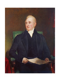 George Stephenson, C.1845 Giclee Print by Henry William Pickersgill