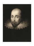 William Shakespeare (1564-1616), Engraved by Charles Turner (1773-1857) Giclee Print by Cornelius Jansen