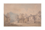 Dove Cottage, Grasmere, C.1806 Giclee Print by Dora Wordsworth