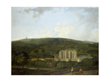 A View of Elizabethan Chatsworth Giclee Print by Richard Wilson