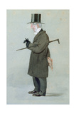 Revd. J. E. Sewell, Warden, from 'Vanity Fair', 1894 Giclee Print by Leslie Mathew Ward