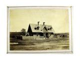 Colonel Bullock's House, Indian Trader, Fort Laramie, 1868 Giclée-tryk af Alexander Gardner