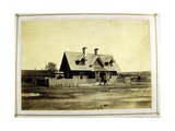 Colonel Bullock's House, Indian Trader, Fort Laramie, 1868 Giclee Print by Alexander Gardner