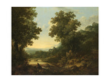 Pastoral Landscape Giclee Print by George, of Chichester Smith