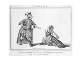 'Now, Now, Thou Traiteress', Scene from Tamerlane by Nicholas Rowe, 1776 Giclee Print by J. Roberts