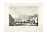 View of the Island of Vulcano, Sicily Giclee Print by L. de Vegni