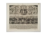 Handbill on the Occasion of the Release of Munich's Hostages from the Swedish in March, 1635,… Giclee Print by Lucas Kilian