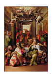 The Presentation in the Temple, C.1567 Giclee Print by  Nosadella