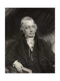 Sir Walter Scott, Engraved by J. Thomson, from 'National Portrait Gallery, Volume III', Published… Giclee Print by John Graham