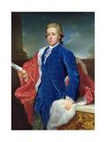 William Cavendish, 5th Duke of Devonshire Giclée-tryk af Anton von Maron