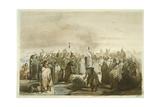 Scalp Dance of the Minatarres, C.1833-43 Giclee Print by Karl Bodmer