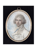 Portrait of George, Prince of Wales, Later King George IV, C.1783 Giclee Print by Richard Cosway