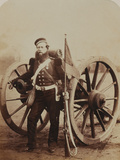 Sergeant William Russell, Royal Artillery, 1856 Photographic Print by  Joseph Cundall and Robert Howlett