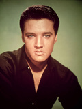Elvis Presley Elvis Aaron Presley (1935-77), American Singer and Actor; also known as 'The King' Photographic Print