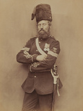 Sergeant Glasgow, Royal Artillery, 1856 Photographic Print by  Joseph Cundall and Robert Howlett