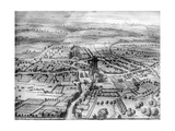 Cirencester Park, from 'The Ancient and Present State of Gloucestershire' by Sir Robert Atkyns,… Giclee Print by Johannes Kip