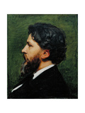 Portrait of Philippe Burty, 1874 Giclee Print by Charles Emile Auguste Carolus-Duran