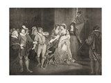 Rousillon, the Count's Palace, Act V, Scene III, from 'All's Well That Ends Well', from the… Giclee Print by Francis Wheatley