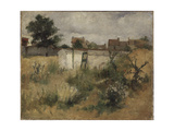 Landscape Study from Barbizon, 1878 Giclee Print by Carl Larsson