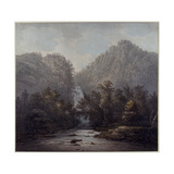 Lodore Waterfall, Westmoreland, 1785 Giclee Print by Joseph Farington